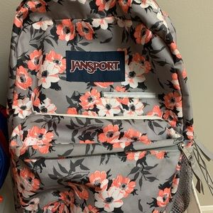 Other - Jansport Backpack with water holder
